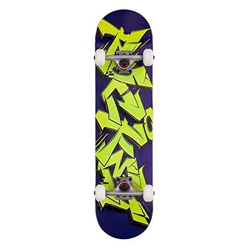 Rocket Factory - Skateboard completo Drips, larghezza 20,3 cm