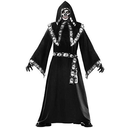 Cosplay Disfraces de Cosplay de Mago de Capa de Halloween para Hombres Trajes de rol para Hombres Trajes de Fiesta de Disfraces de Carnaval A One Size