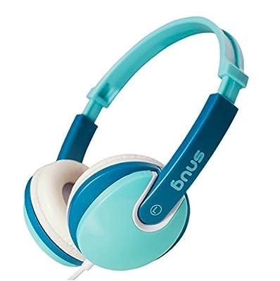 Snug Plug n Play Kids Headphones for Children (Turquoise)