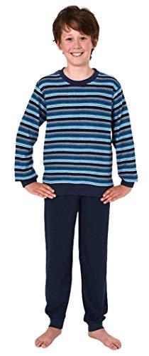 Toller Jungen Frottee Pyjama Langarm Schlafanzug mit Bündchen - 291 501 13 704,...