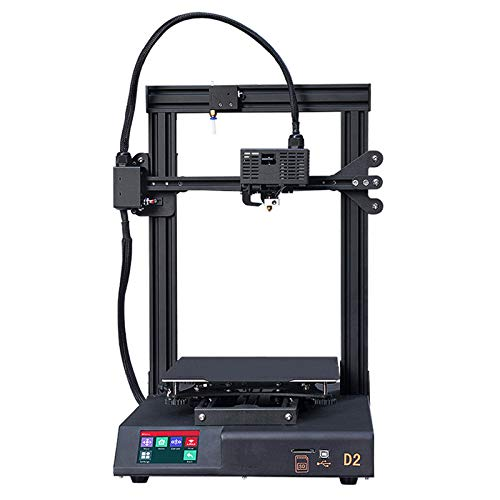 JFF 3D Printer, All Metal 3D Printers Kit with Upgraded Silent Motherboard, Mean Well Power Supply, Print Size 230X230x260mm