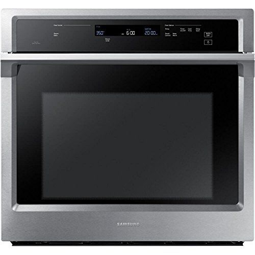 Samsung Appliance NV51K6650SS 30' 5.1 cu. ft. Total Capacity Electric Single Wall Oven with Top Broiler, in Stainless Steel