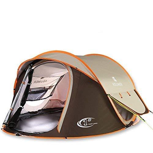 QIBIN Outdoor Waterproof Tent, Beach Tents, Beach Tents Automatically Open Folding Outdoor Double Fishing Tent Rain Sun Shade UV Tent,For Beach Camping Hiking Fishing for Beach Camping Hiking Fishing