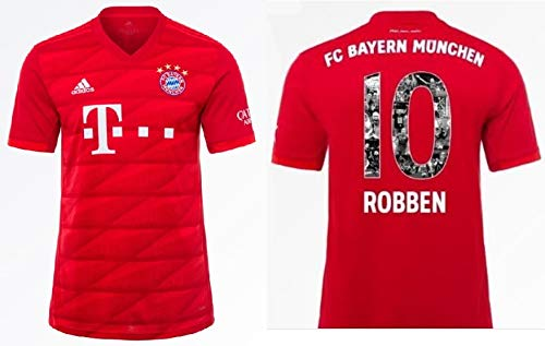 FCB Trikot Herren 2019-2020 Home - Robben 10 (XXL)
