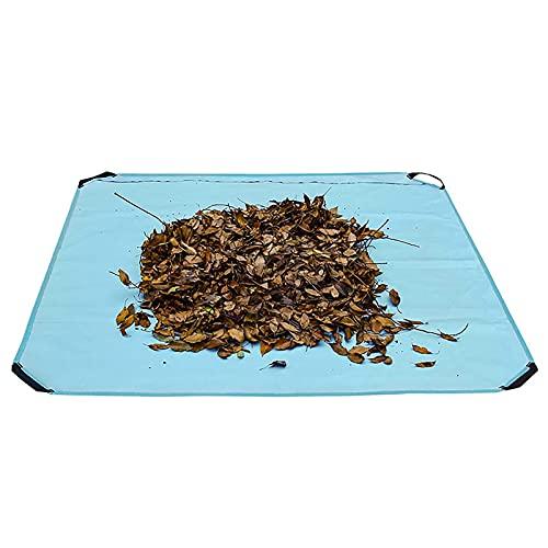 Bolsas de residuos de jardín, bolsas a granel de hojas de jardín, saco de almacenamiento plegable, bolso de hoja de hojas Hojas Cuadrado Lgargar Matra Arge Capacidad de Arge Jardín Jardinería Césped C
