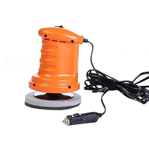 Poliermaschine Akku Poliermaschine Dual Action Auto Polierer Polierscheiben Maschinenpolierer Dual Action Polierer Orange,One Size