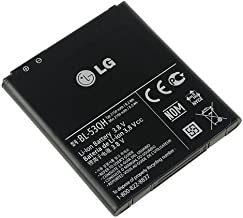OEM LG Battery BL-53QH EAC61898402 for Escape P870, Optimus 4X P880, Optimus L9 P769, Spectrum 2 VS930, Spirit 4G MS870 Mobile Phone Accessories