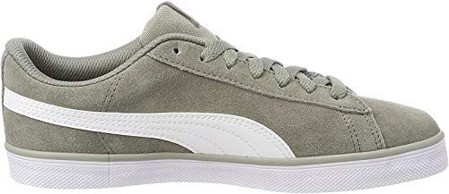 Puma Unisex-Erwachsene Urban Plus SD Sneaker, Beige (Rock Ridge-puma White 02), 42.5 EU (8.5 UK)