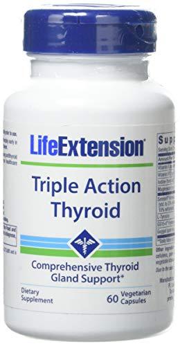 Life Extension Triple Action Thyroid, 60 Veggie Caps - 1 Units