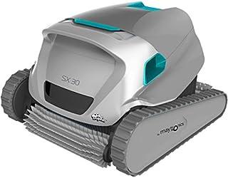 Maytronics - Dolphin SX 30 - Robot Limpiafondos de Piscina - para Piscinas de hasta 12 m - Automático - Limpia Fondo, Paredes y Línea de Agua - Garantía de 2 Años