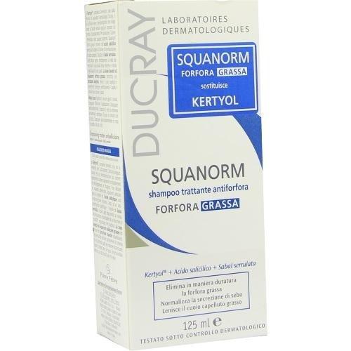 ducray squanorm fettige schuppen shampoo 125 ml