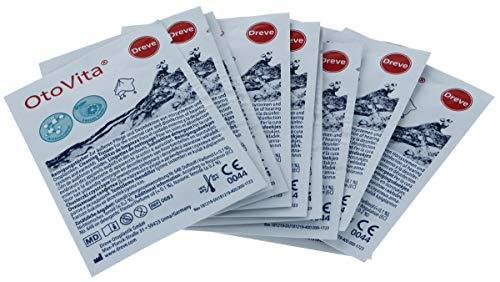50 Stück OtoVita® Reinigungstücher - einzeln verpackt - Pflege und Desinfektion
