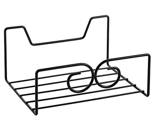 Jjyy Gratis bokszak, opslagrek, achterdeur, rek, slaapzaal, kledingkast, tas, kleerhangers, haken, kledinghaken, 20,3 x 16 x 10 cm