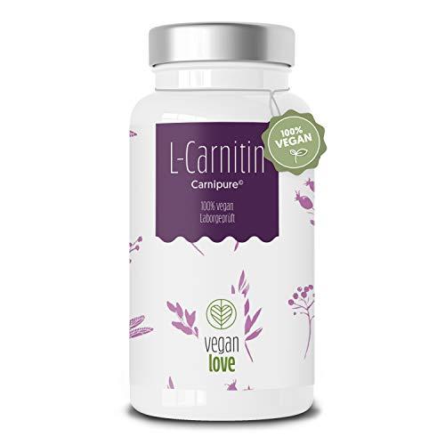 L-Carnitin Kapseln –120 Kapseln mit 3000 mg L-Carnitin-Tartrat pro Tagesdosis Premium: Carnipure® von Lonza extra hochdosiertes Carnitin & vegan – 3 Monatsvorrat