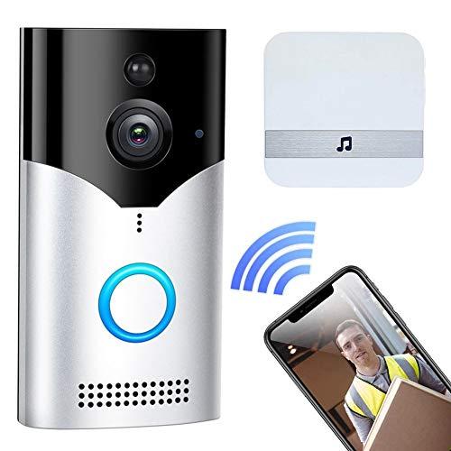 M-TOP WiFi Video Doorbell Camera 1080p Wireless Smart Home Security...