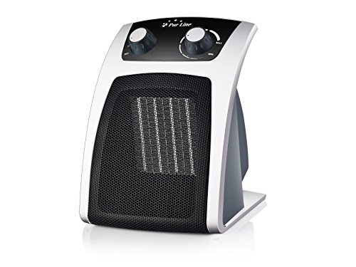 PURLINE HOTI F30 Calefactor cerámico termoventilador compacto con termostato 1000 W - 2000 W