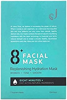 Jema Rose 8+ Minute Replenishing Hydration Mask 7 Pack, 7 count