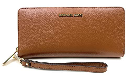 Michael Kors Women's Jet Set Travel Zip Around Continental Wallet No Size (Luggage)