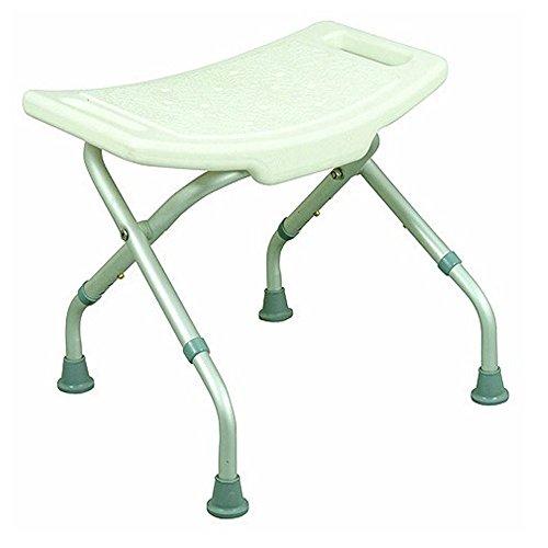 Mobiclinic Silla de Ducha/baño | Aluminio | Taburete Plegable y Regulable en...