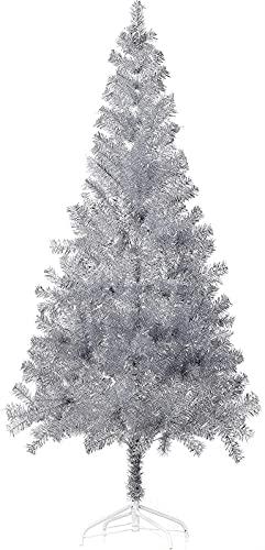 length Protección del Medio Ambiente CLORURO DE POLIVINILO Soporte de Metal de árbol de Navidad, Usado for Fiesta, Boda, decoración del hogar (Color : LagreGreen, Size : 60cm/2ft)