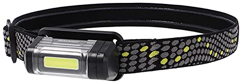 GENTOS(ジェントス) LED ヘッドライト 【明るさ70ルーメン/実用点灯8時間/COB LED】 単3形電池1本使用 ワンズ OZ-031D ANSI規格準拠 ブラック 幅69.8×奥行36.2×高さ38.5mm
