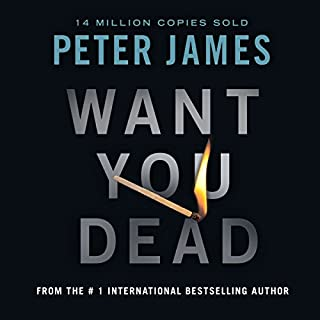 Want You Dead audiobook cover art