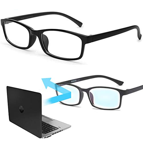 Blaulichtfilter Brille Computerbrille Gaming Bluelight Filter Anti-Müdigkeit Anti-Blaulicht UV-Schutz Für PC Smartphone TV Schützen Sie Ihre Augen vor dem schädlichem blauem Licht von Bildschirmen