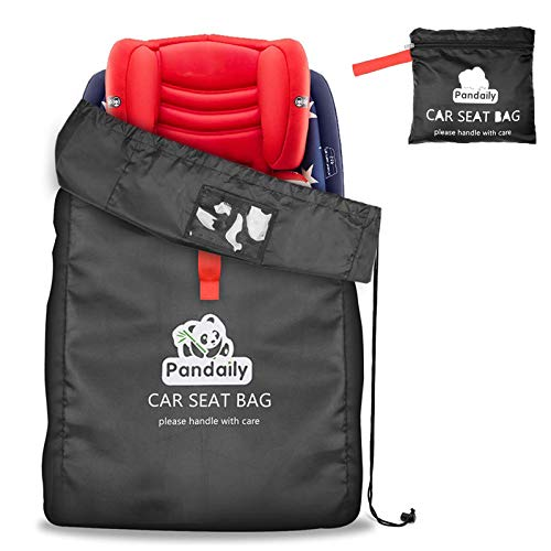 Car Seat Bag, Gate Check Air Travel Bag with Backpack Shoulder Straps, Cover Protect Stroller, Carseat, Pushchair, Booster, Infant Carrier and Wheelchair for Airplane Airport Gate Check Minnesota