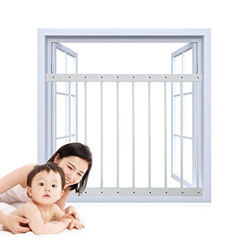 Hada bebé ajustable seguridad infantil Guardia de ventana rejillas de
