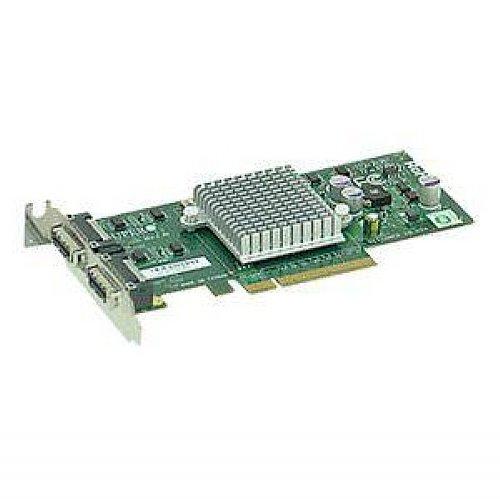 Supermicro Standard Low-Profile 2 Port 10-GIGABIT Ethernet LAN Card (AOC-STG-I2)