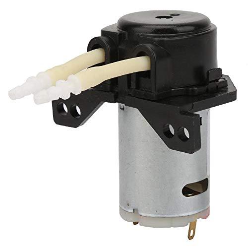 Schlauchpumpe, DC6V Micro Water Liquid Schlauchpumpe für Aquarium Lab Analytical 2 * 4mm(Gelb)