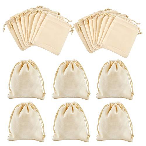Nbeads, 30 sacchetti di velluto, sacchetti di velluto, sacchetti regalo per caramelle, bomboniere per gioielli, 12 x 10 cm