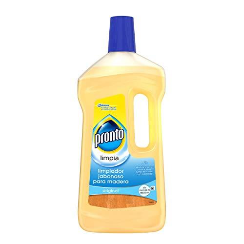 Pronto Limpiador Jabonoso - Producto de limpieza para suelos y muebles de madera, 750 ml