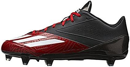 adidas Men's 5-Star Low d Football Shoe, Power Red/White/Black, 9 M US