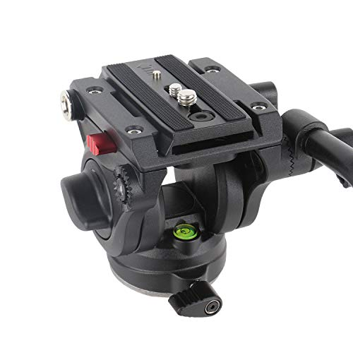 Avella V501 Video Camera Tripod Fluid Drag Pan Head for...