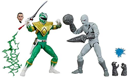 Power Rangers Figuras de 6 Pulgadas Lightning Collection – Ranger Verde y Mighty Morphin Putty Action…