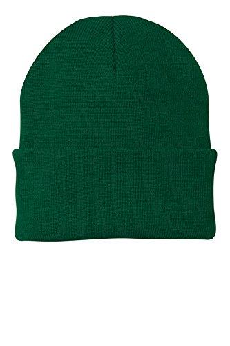 Port & Company Men's Knit Cap OSFA Athletic Green