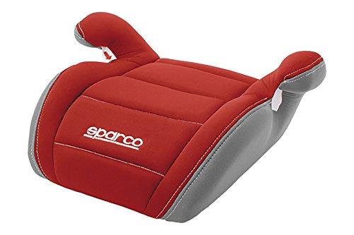 Sparco SPC3002RS3CM - Alzador, 3 cm, Rojo/Gris