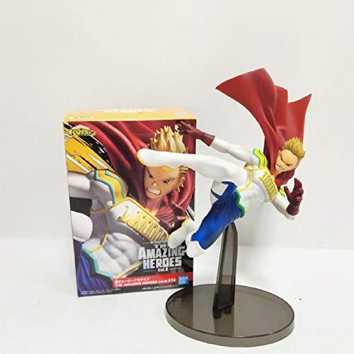 FJKYF Modelo De Animeanime My Hero Academy Figuras De Acción Lemillion Estatua Figurita Juguetes 17Cm