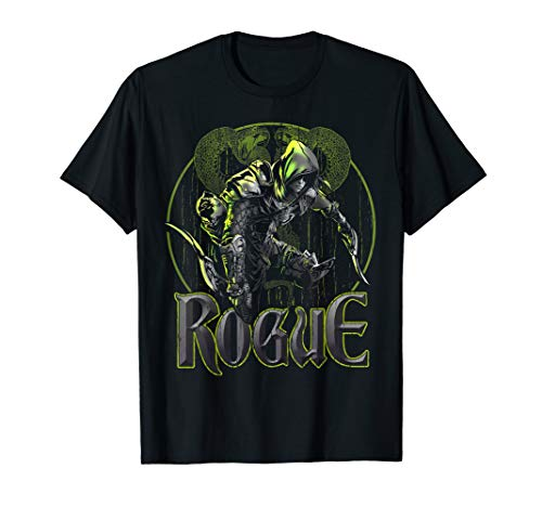 Elven Rogue Assassin Fantasy Roleplaying Dungeons RPG Gamers T-Shirt