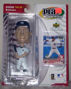 PlayMakers 2002 MLB Edition- Derek Jeter Bobble Head with Card