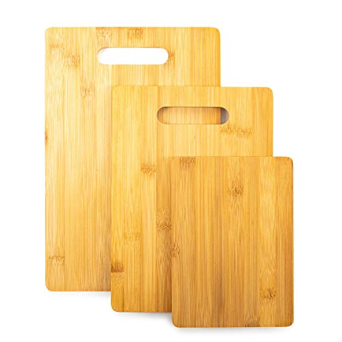 Home Treats Set 3 tablas cortar bambú | 3 tablas