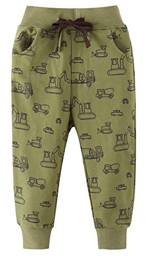 EULLA Boys' Pull on Board Pants for Baby Toddler Little Boy Size 2 3 4 5 6 7 Years