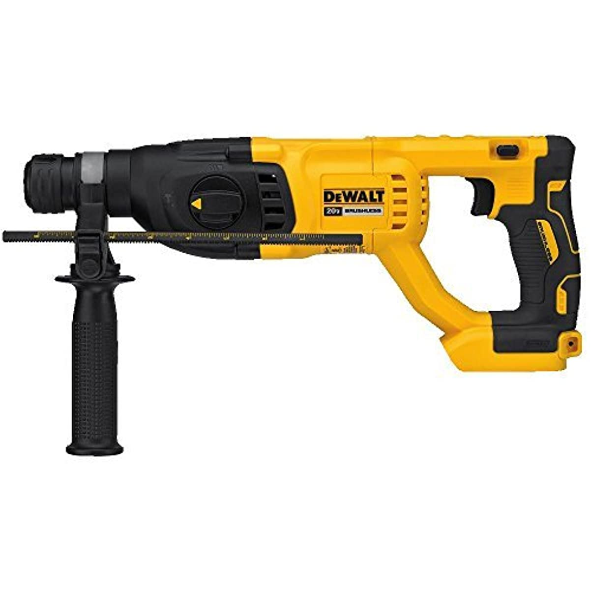 "ぜいたく挽く嵐が丘DEWALT DCH133B 20V Max XR Brushless 1"" D-Handle Rotary Hammer Drill [並行輸入品]"