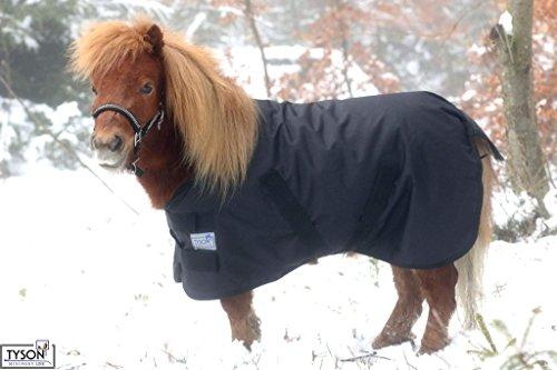 600 D 60 cm Regendecke Schwarz Winterdecke Fohlen Outdoordecke Shetty Pony Decke60 65 70 75 80 85 90 95 100 cm Hier 60 cm