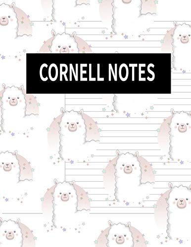 Cornell Notes: 120 Pages, Soft Matte Cover, 8.5 x 11