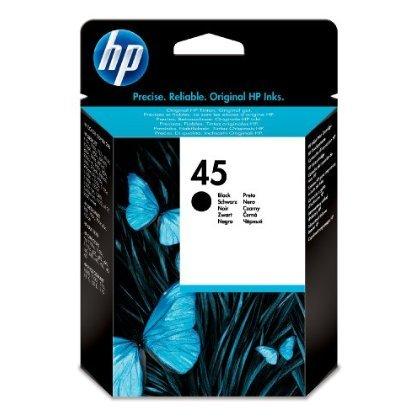 HP 51645GE Cartuccia Inkjet 45, Nero