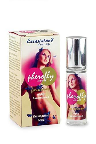 Pherofly roll on Männerlockstoff - hoch konzentrierter und natürlich anziehender Pheromon-Duft Eau de Toilette für Sie 14 ml