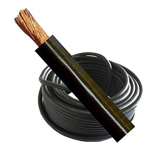 Soldadura Cable Batería Live 500Amp Medidor de 70mm Negro Flexible por Mig soldadora de arco