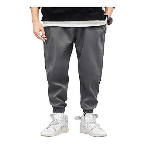 Preisvergleich Produktbild N / A Herrenhose Street Patchwork Hip Pop Lässig Lose Laterne Hose Jogginghose Verstellbare Knöchelöffnung